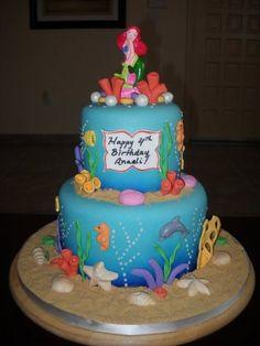 mermaid cakes | Little Mermaid Cake! - by YummyTreatsbyYane @ CakesDecor.com - cake ...