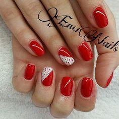 #rednails #instared #gellac #lacegel #beautinails #hungarynails