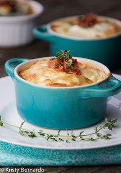 Sweet Potato and Pancetta Gratin | Recipe | Gratin, Potatoes and Sweet