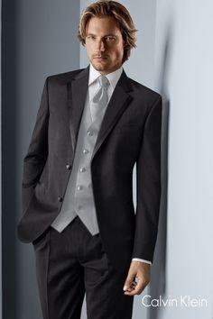 Calvin Klein Concord Black Wedding Tuxedo