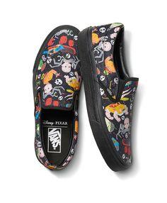 Sneakers Vans, Tenis Vans, Ankle Sneakers, Vans Disney, Disney Shoes, Skate Shoes, Slip On Shoes, Moda Geek, Toy Story