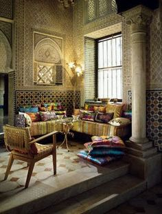 Want a room in my house like this, very Arabian Nights