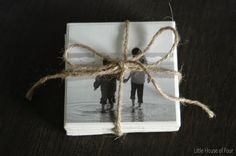 Little House of Four: DIY Photo Coasters...