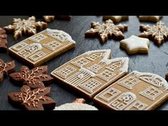 Gingerbread house - YouTube