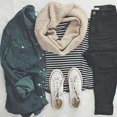 Cute Casual Winter Fashion Outfits For Teen Girl – Look Fashion, Teen Fashion, Womens Fashion, Fall Fashion, Fashion Outfits, Fashion Trends, Ladies Fashion, College Fashion, Cheap Fashion