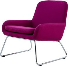 Softline Coco is a sophisticated easy chair designed by Busk+Hertzog. Danish Furniture, Sofa Furniture, Furniture Design, Soft Seating, Lounge Seating, Lounge Chairs, Purple Chair, Danish Design Store, Multifunctional Furniture
