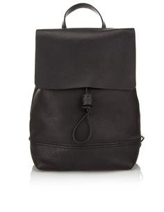 Black Leather Basic Backpack | Alfie Douglas | Avenue32