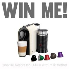 Enter to win: Breville Nespresso U-Milk with milk frother | http://www.dango.co.nz/s.php?u=PcaWEXrB1870