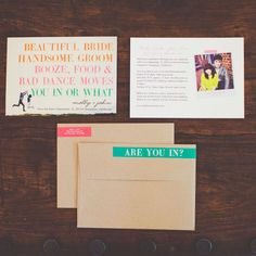 How can you say no to this hilarious save the date?