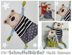 Stickmuster - ♥ ITH *SchnuffelBärBel* 16x26 Rahmen Stickdatei♥ - ein Designerstück von StoffCut bei DaWanda