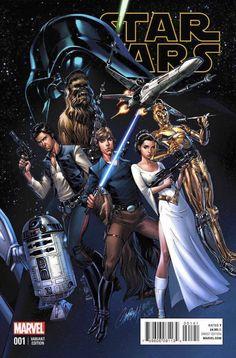 J. Scott Campbell Marvel Star Wars 2015