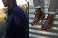 Huge fan of what Frank & Oak does with its monthly collections, especially this fall-ready gear! New Nordic, October 15, Men's Style, Oxford Shoes, Fall Winter, Dress Shoes, Menswear, Collections, Man Shop