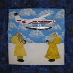 Sunbonnet Sue in Alaska Quilt Patterns from It's Sew Easy! - Alaska