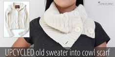 Upcycled old sweater