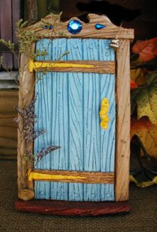 Sleepy Hollow Fairy Houses Doors Enchanted Whimsical Items From The Woodworking Studio