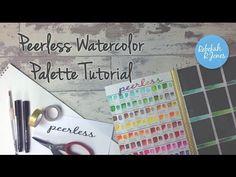 Peerless Watercolor Palette Tutorial - Rebekah R Jones