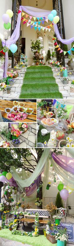 Colorful balloon wedding party☆