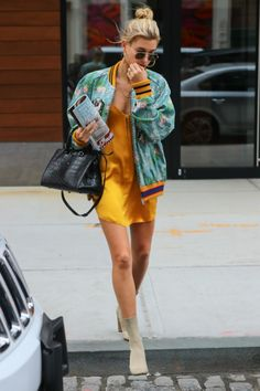 5/28/17 - Hailey Baldwin out in NYC.