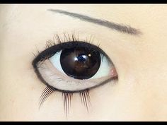 Tutorial : Anime Eye Makeup 49 • Perona