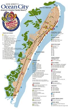 Atlantic City Hotel Map Find Your Way Around Using The