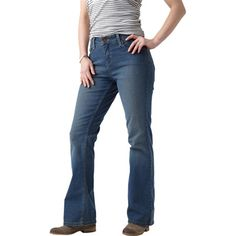 Levis -curvy stretch midrise bootcut jeans