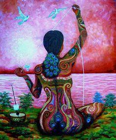 """""""Las mujeres somos tejedoras, nos tejemos con hombres, niñ@s, y unas con otras para proteger la tela de la vida. Las mujeres somos creadoras, damos a luz a nuestros niños y a los hijos de nuestros sueños, Las mujeres somos sanadoras conocemos los secretos del cuerpo, de la sangre y del espíritu porque son uno y el mismo. Leer mas:  http://mujerciclica.com/2014/06/28/las-mujeres-somos-tejedoras/"""