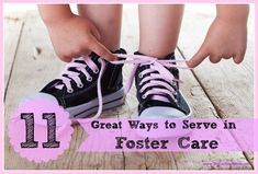 Types of foster care, plus alternatives if fostering isn't right for you at this time  #fostercare