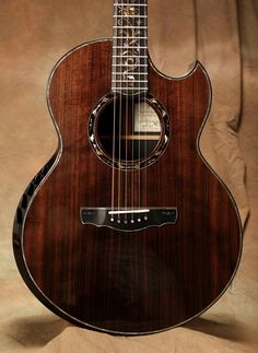Ryan Nightingale gold rush guitar.