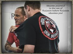 Don't wait for violence to educate you! Chris Roberts, Self Defense, Teaching, Education, Mens Tops, Onderwijs, Learning, Tutorials