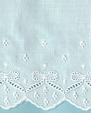 Wide Swiss Embroidery Edging