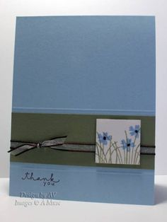 Inchie Thank You by yawp - Cards and Paper Crafts at Splitcoaststampers