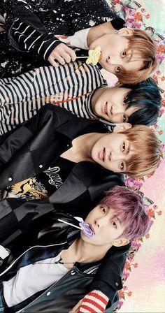 BTS Jeon Jungkook, Min Yoongi, Kim Taehyung, and Kim Namjoon Rap Monster, Kpop, Bts Jungkook, Park Jimim, Frases Bts, Les Bts, Bts Group Photos, About Bts, Bulletproof Boy Scouts
