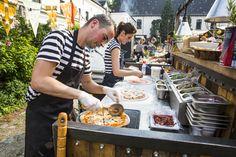 Verse pizza op locatie! #foodtruck #pizza