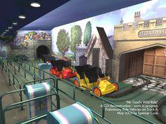 Entrance, Mr. Toad's Wild Ride, Magic Kingdom