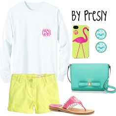 """""""Preppy Alphabet: M for Monograms"""" by zepc-squared on Polyvore"""
