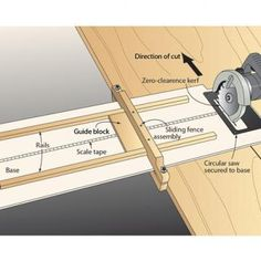 Panel-ripping edge-guide