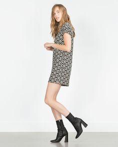 ZARA - STRAIGHT CUT DRESS