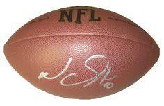Detroit Lions Ndamukong Suh signed NFL Wilson full size football w/ proof photo.  Proof photo of Ndamukong signing will be included with your purchase along with a COA issued from Southwestconnection-Memorabilia, guaranteeing the item to pass authentication services from PSA/DNA or JSA. Free USPS shipping. www.AutographedwithProof.com is your one stop for autographed collectibles from Detroit sports teams. Check back with us often, as we are always obtaining new items.