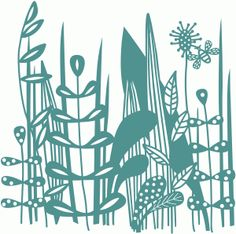 Silhouette Design Store - View Design #67852: bee in the grass 12x12 papercut background