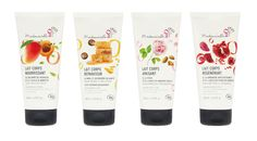 Agence Cécile Halley des Fontaines - Global design agency - Mademoiselle bio — retail - organic cosmetics shop — body lotion packaging