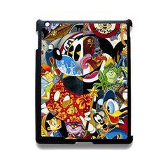Disney Character Famous TATUM-3316 Apple Phonecase Cover For Ipad 2/3/4, Ipad Mini 2/3/4, Ipad Air, Ipad Air 2