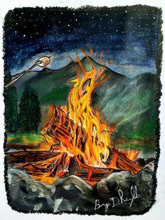 Dark Mountains, Canvas Wall Art, Canvas Prints, Support Local, Mountain Art, Selling Art, Local Artists, Life Goals, Handmade Art