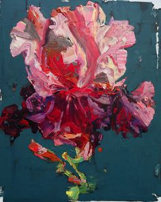 ❀ Blooming Brushwork ❀ - garden and still life flower paintings - Carmelo Blandino | Strawberry, 2014 | Saatchi