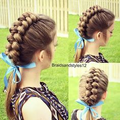 Hi Everyone  Today s tutorial is how to do a Dutch Infinity braid on     Dutch Infinity Braid   https   www youtube com watch