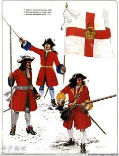 Irish regiments in service to the Ancien Regime. The Wild Geese, Osprey Publishing, Irish Warrior, Army Uniform, Military Uniforms, Seven Years' War, Age Of Empires, British Soldier, American War