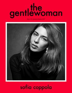 Sofia Coppola, photographed by Inez & Vinoodh for The Gentlewoman, ss 2017.