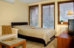 Apartamenty Komfort Boutique Hotels, Bed, Furniture, Home Decor, Decoration Home, Stream Bed, Room Decor, Home Furnishings, Beds