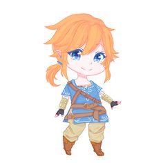 """""""Link - Legend of Zelda: Breath of the Wild"""""""