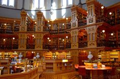 The Library of Parliament, Ottawa, Canada