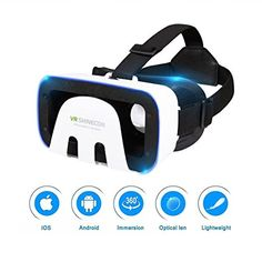 e258aa2b532 3D VR Glasses VR Virtual Reality for 3D Games Movies  Lightweight with   Adjustable Pupil and Object